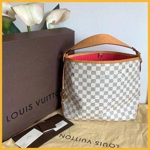💖gorgeous Louis Vuitton damier Azur delightful pm